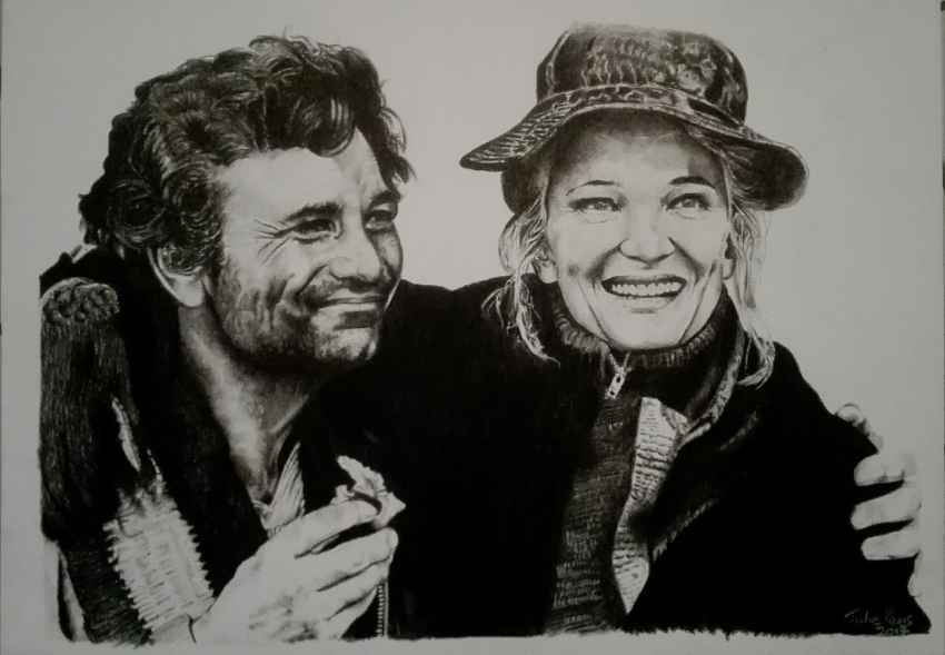 Gena Rowlands, Peter Falk by sanaelle